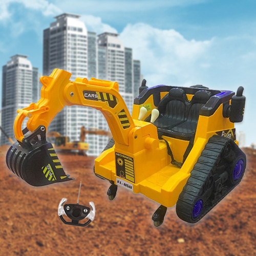 Kids Sit In Electric Construction Excavator Digger With Remote 199 95 Kids Electric Cars
