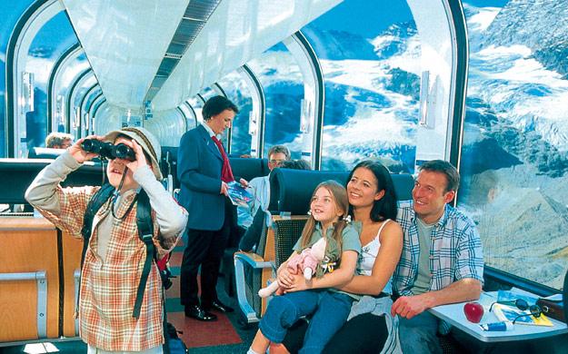 Treinreizen in Zwitserland