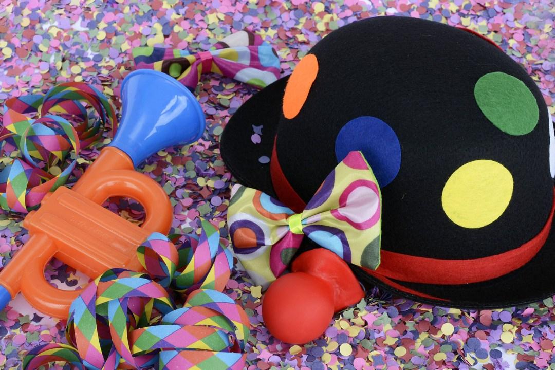 kinderfeestje, kinderpartijtje, carnaval