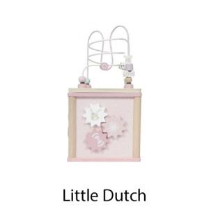 kidsenco Little Dutch houten Activiteitenkubus