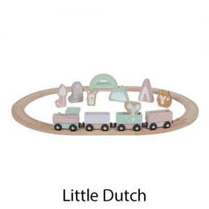 kidsenco Little Dutch houten Treinbaan