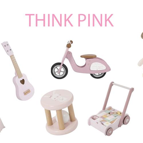 think pink roze kadootjes