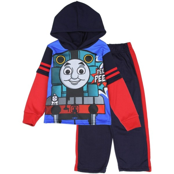 Thomas Train Pullover Sublimated Hoodie And Pants Free