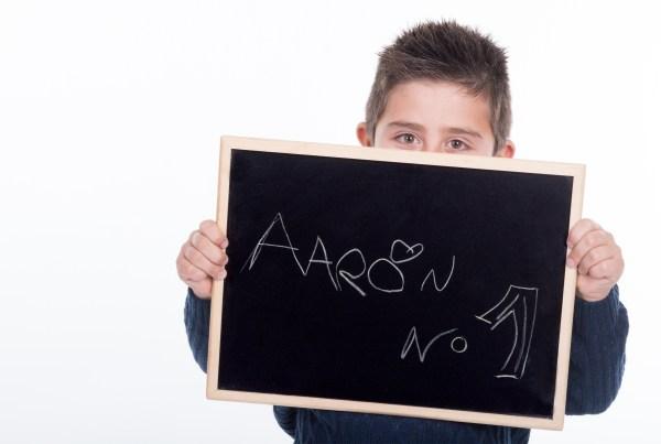 Reportaje fotografía infantil AARON