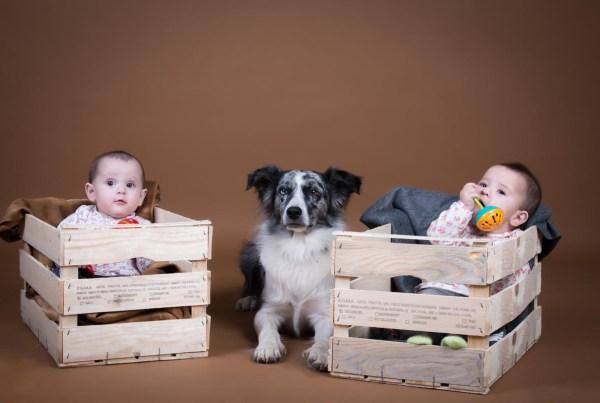Sesión fotográfica infantil, mellizos. Fotografía bebé.
