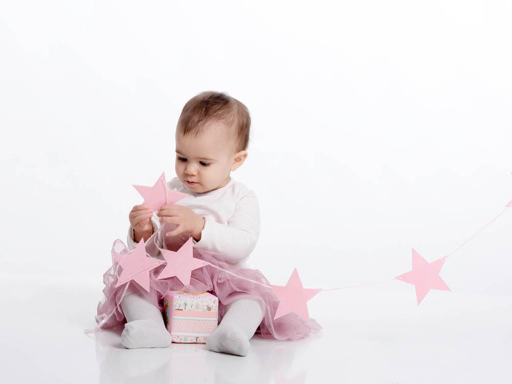 kidsfoto.es Sesión fotográfica bebé, reportaje bebé Klohe en Zaragoza