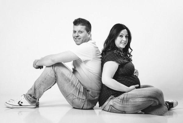 Sesión fotográfica Embarazo Premamá en Zaragoza. Fotografía de bebés