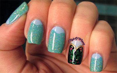elsa forzen disney nail arts