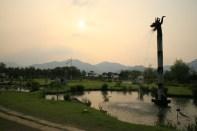 Semiwon at sunset
