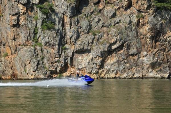 Jet boat Korea River