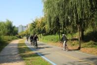 Hangang River Cycling trail - Oksu-dong
