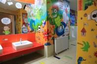 Comics restrooms at Korea Manhwa Museum