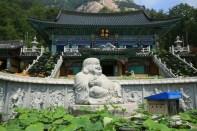 Jain temple near Sanjeong Lake, Gyeonggi-do