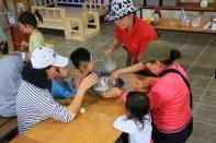 Ice cream making - Jinju Farm, Korea