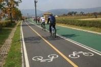 Bike lanes, Guri Citizen's Hangang River Park