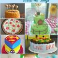 Sports theme boy birthday cake cute for a little boys birthday was fun