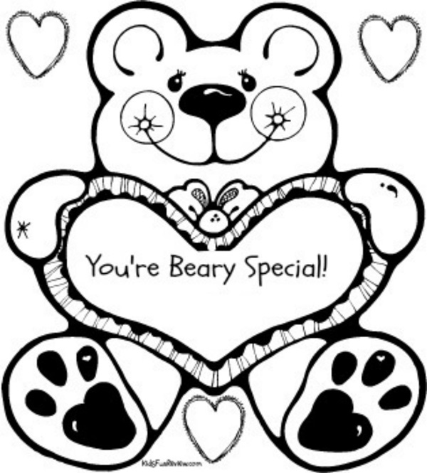 you are special Colouring Pages