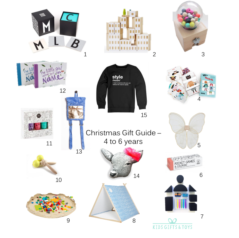 KGT Xmas gift guide - age 4 to 6 2015