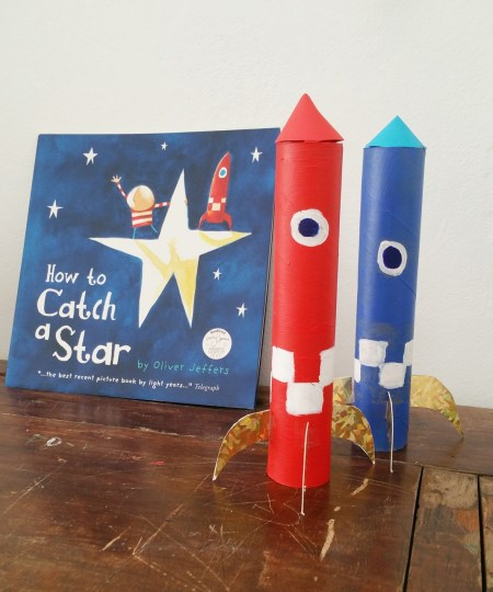 Book inspired craft - how to catch a star 3 rs