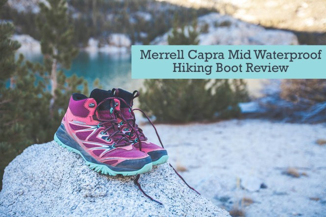 Merrell Capra Mid Waterproof Hiking Boots