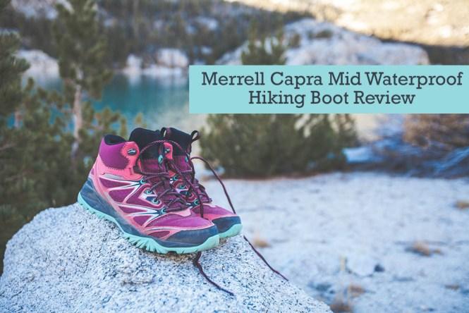 Merrell Capra Mid Waterproof Hiking Boots