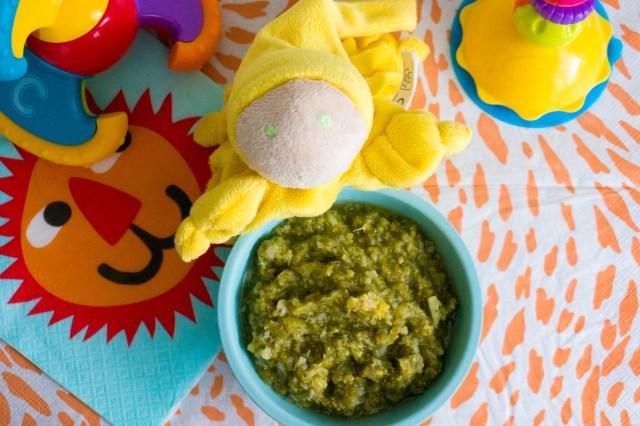 recept: appel, sperziebonen en broccoli