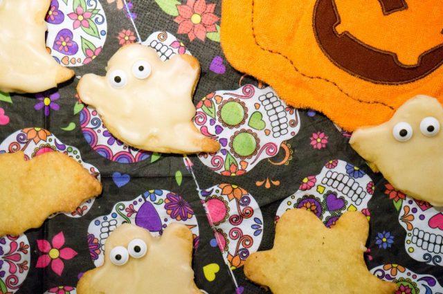 halloween spook koekjes (babies kitchen)