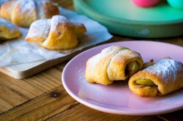 appeltaart croissants by Babies Kitchen