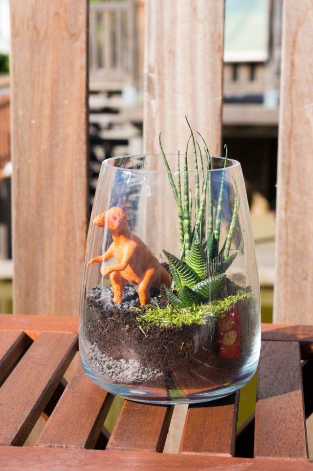 diy dinosaurus terrarium   Babies Kitchen Kinderkamer Decoratie