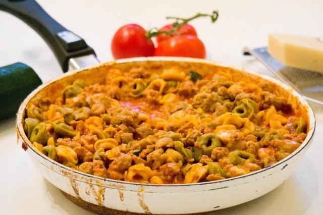 Eenpans tortellini met worst   Babies Kitchen diner