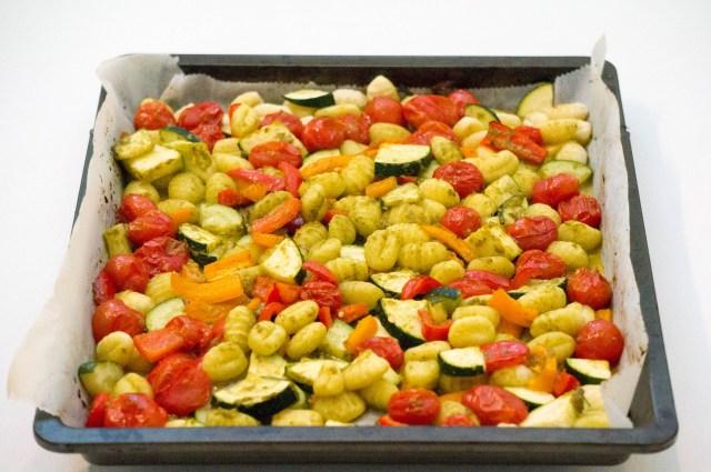 Gnocchi Pesto Bakplaat | Babies Kitchen