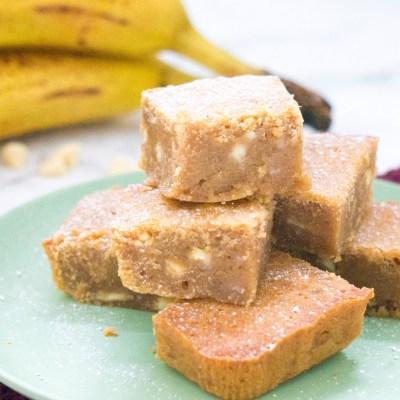 Bananen Blondies [Kidshoekje.nl]