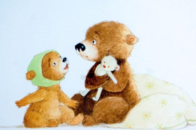 Illustratie Kleine beer gaat naar school - Kidshoekje