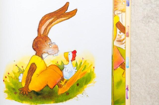 Goed gedaan Kippiekip uit Vrolijk Pasen een kinderboek.