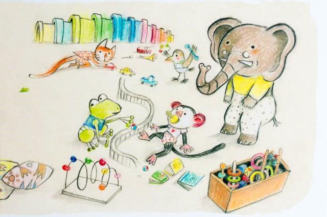 Recensie Kinderboek Wat zegt kleine krokodil op de creche - Kidshoekje.nl