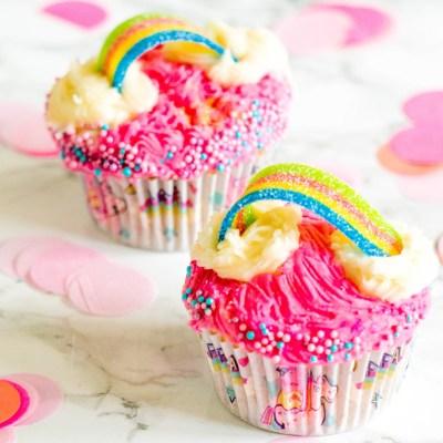 Recept Regenboog Cupcake - Kidshoekje.nl