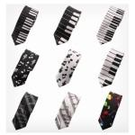 галстук с нотами