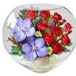 живые цветы в вакууме