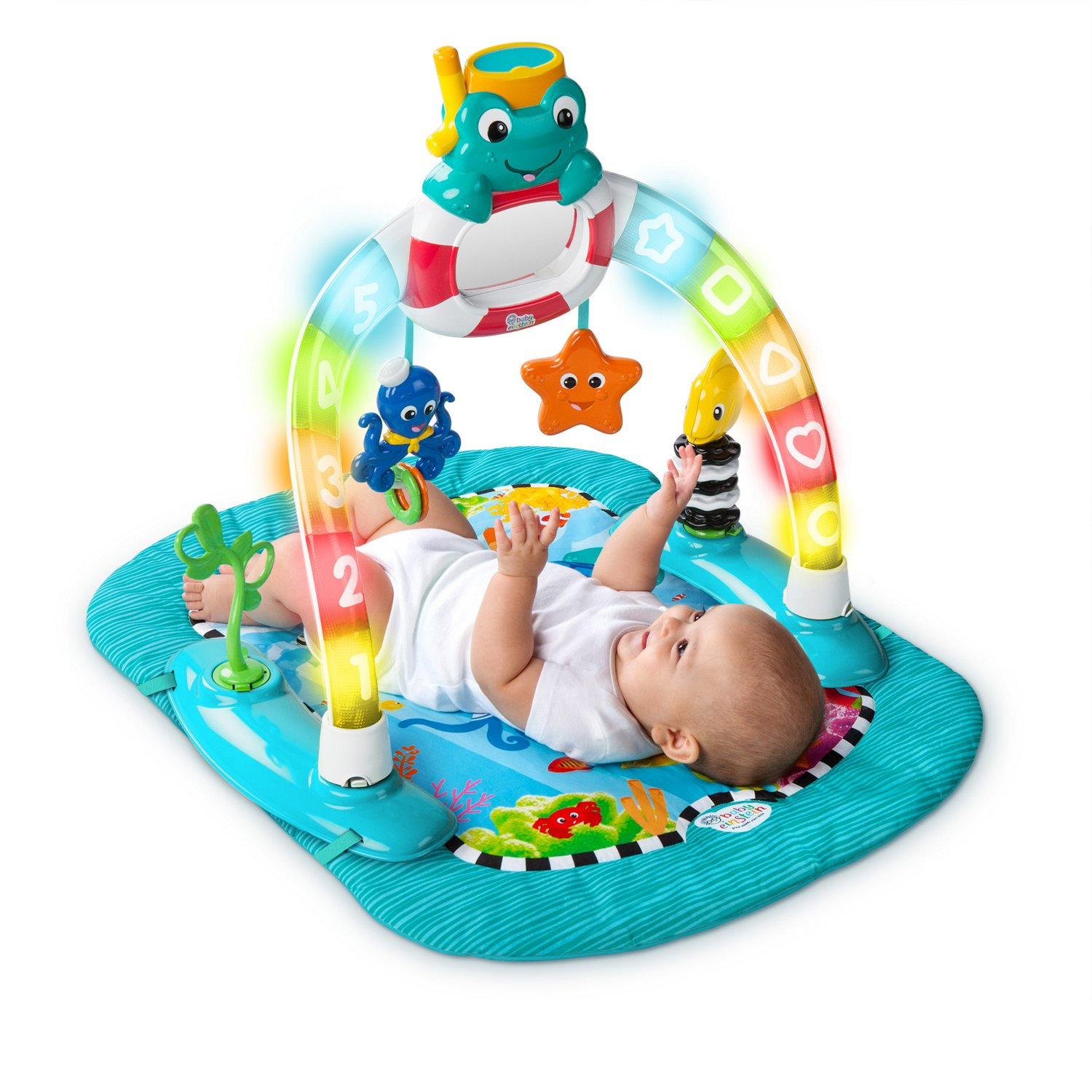 2in1 Lights  Sea Activity Gym  Saucer