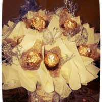 Chocolate Bouquet for Engagement Gift