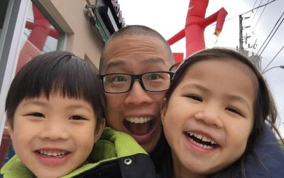 Dads in T.O. – Author and Illustrator Hilary Leung