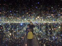 INFINITY MIRRORS WITH KIDS IN TOw  Kids in T.O.