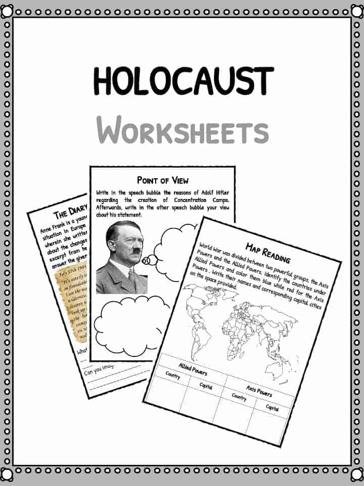 34 Holocaust Facts And Figures Worksheet Answers
