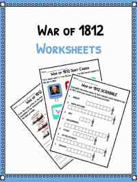 War Of 1812 Worksheets Free Worksheets Library | Download ...