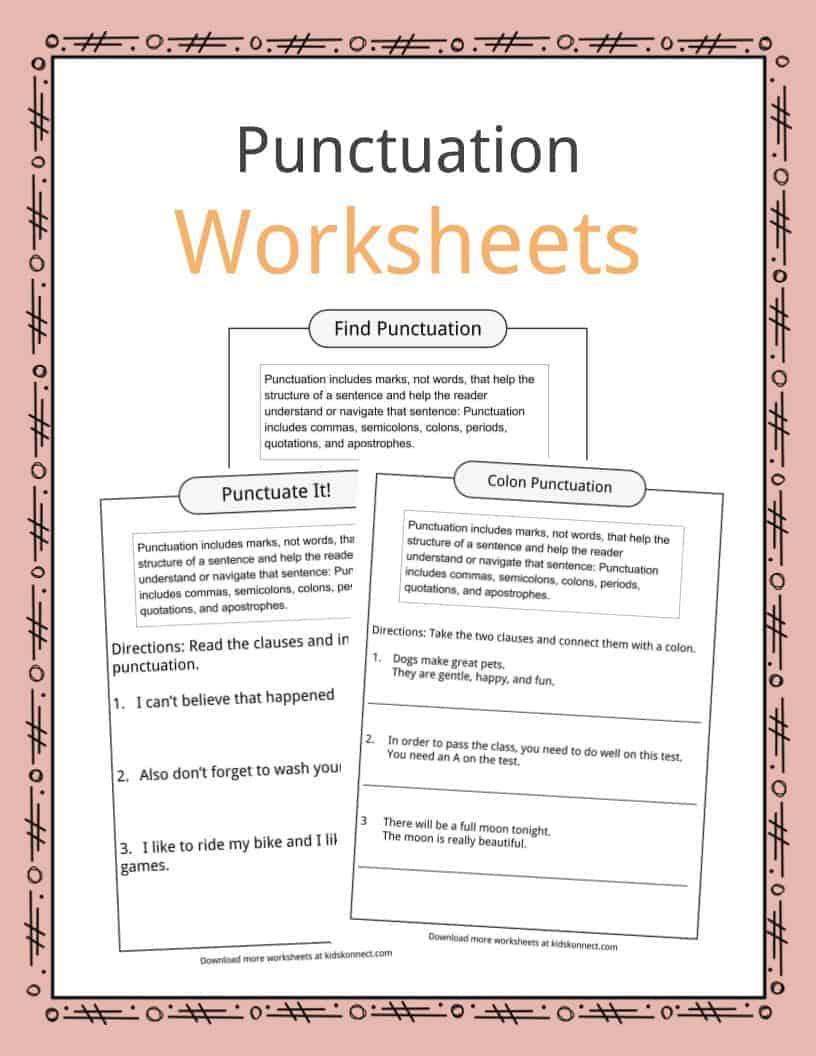 medium resolution of Punctuation Examples