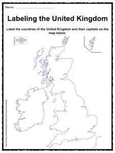 United Kingdom Facts, Worksheets & Historical Information