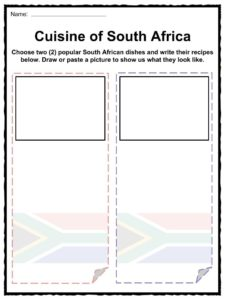 South Africa Facts, Worksheets & History Information For Kids