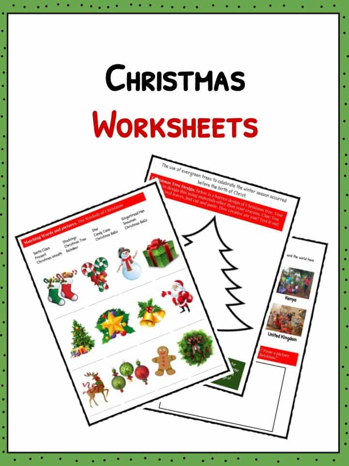 Christmas Facts Information Amp Worksheets For Kids