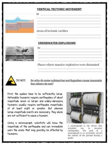 Tsunami Facts Worksheets Amp Historical Information For Kids