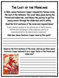 French & Indian War Facts & Worksheets For Kids - Seven ...